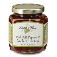 Red Bell Pepper & Ancho Chili Jam Earth & Vine