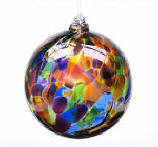 Blown Glass Calico Ball