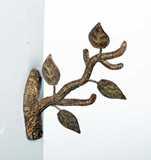 Display - Small Cast Iron Tree Branch Hanger