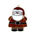 Santa Claus Stained Glass Nightlight or Suncatcher